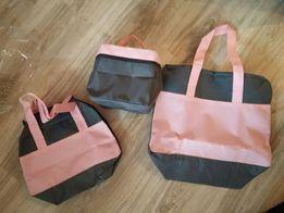 Zestaw toreb i kosmetyczek
