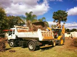 RUBBLE REMOVAL SERVICES TLB HIRE SERVICES BOBCAT HIRE TIPPER TRUCK