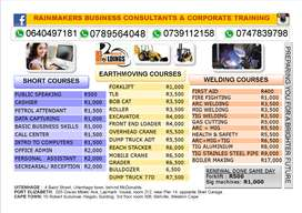 CHEAPEST COURSES plus FREE JOB assistance (TLB Excavator Loader Petrol