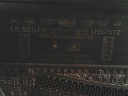 Пианино ED Seiler 1927г