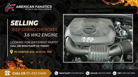 Jeep Grand Cherokee 3.6 WK2 Engine for sale!