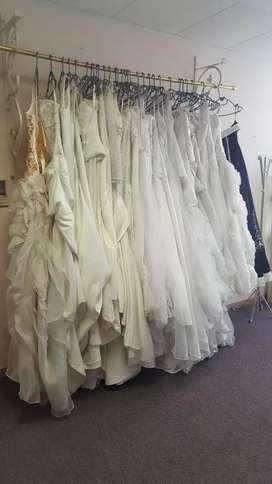 BRIDES ON BUDGET WEDDING DRESS  CLEARANCE SALE