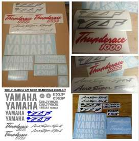 1996 Yamaha YZF 1000R Thunder ace decals stickers vinyl cut graphics
