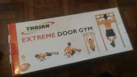 TROJAN GYM EQUIPMENT - HARDLY USED - AS NEW IN BOXES