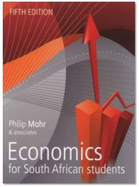 Textbook : Economics for South African Students