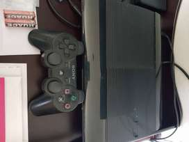Playstation 3 consol with accessories