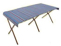 стол для торговли складной + тент (алюминиевый от дождя и сонца)