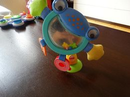 żaba fisher price