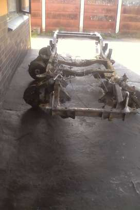 Nissan bakkie chassis
