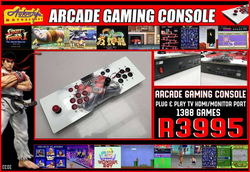 All-In-One Plug and Play Retro Home Arcade Machine All the classics ar 0