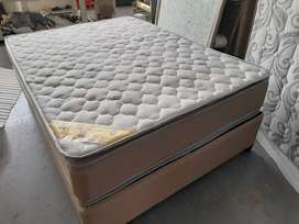 Bamboo Pillow Top both sides Double