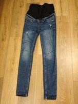 Spodnie jeansy ciążowe h&m rozmiar 36 S
