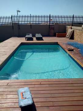 Swimming pool building and maintenance