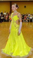 Платье-стандарт для бальных танцев