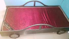 kiddies car bed and mattress