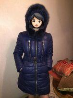 Зимняя курточка женская холлофайбер