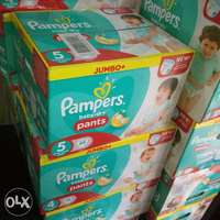 Pampers baby dry Pants size 4-6,Mega box 0