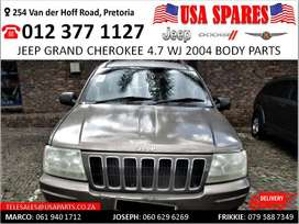 Jeep Grand Cherokee 4.7 WJ 2004 body spares for sale
