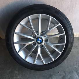 BMW Mag Wheel & Tyre