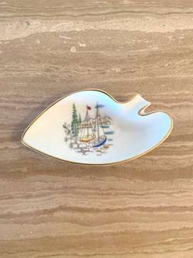 Small Heinrich&Co Selb Bavaria Germany Boat Dish