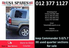 Jeep Commander 3.0/5.7 XK 2006-10 used quarter sections for sale
