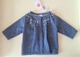 Новый кардиган нарядная кофта для девочки пиджак бомбер Cool Club 62