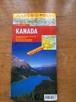 Mapa Kanadą