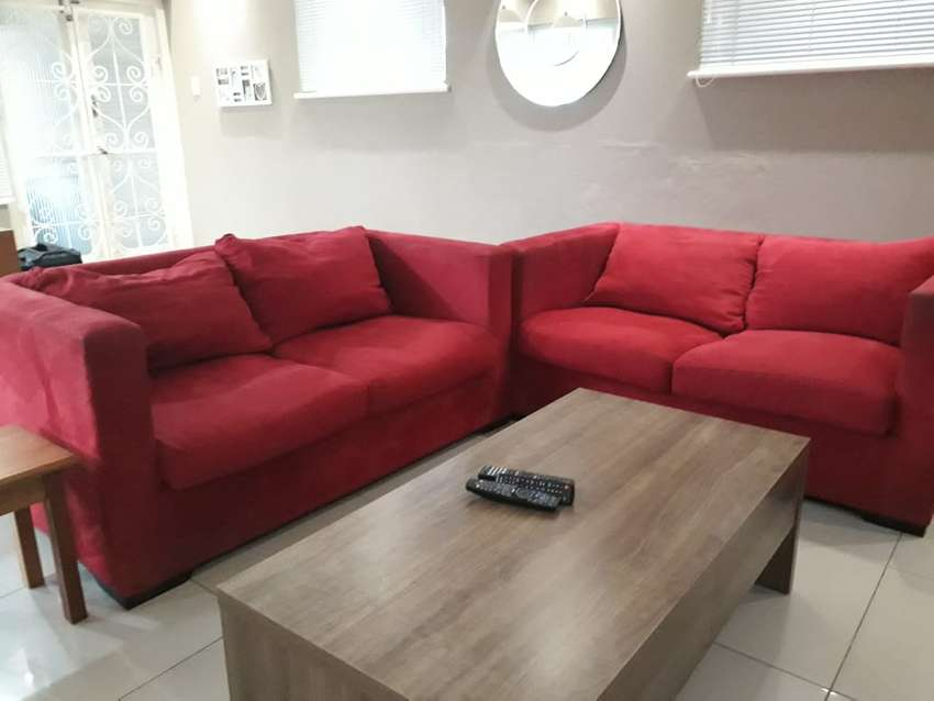 Mr Price Suede Lounge suite and tub chairs 0