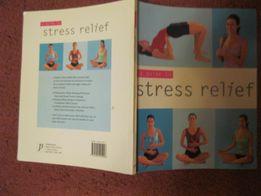 книга английский A Guide to Stress Relief Сара Роуз снятие стресса
