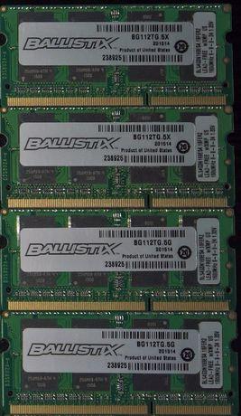 Crucial Ballistix 8GB (2x4GB) 16GB (4x4GB) PC3-12800 DDR3-1600 sodimm Киев - изображение 1