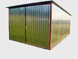 Garaż blaszany BLASZAK MAGAZYNEK SCHOWEK 3x5m. dostawa i montaż GRATI