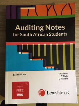 Auditing Notes for South Africa 11th Edition