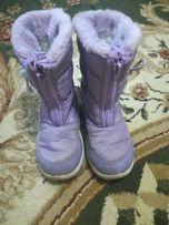 Зимові чоботи,дутіки