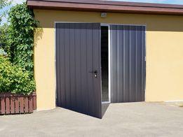 DWUSKRZYDŁOWA brama garażowa bramy garażowe garaże blaszane CAŁA POLSK