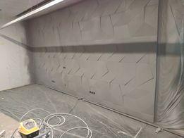 Демонтаж и монтаж стен окон прорезь проёма стяжки штукатурки и ТД.(;