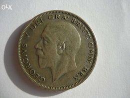 Монета английская (серебро)