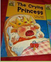 The Crying Princess by Anne Cassidy детская книга английский Кэссиди