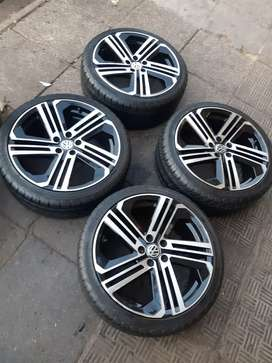Polo TSI Mage wheels and tyres sizes 205/40/17 now available