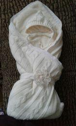 Конверт,одеяло,комплект,набор зимний Mag Baby на выписку или в коляску
