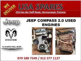 JEEP COMPASS 2.0 USED ENGINES