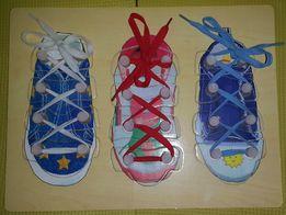 Пазл-шнуровка Обувь