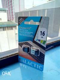 Galactic 16GB Cruzer USB flash drive,brand new and sealed in a shop 0