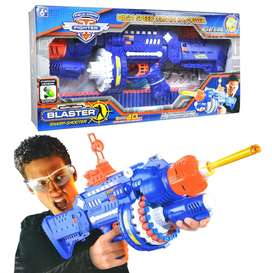 super blaster sharp shooter with 40 soft bullets and Rechargeable batt