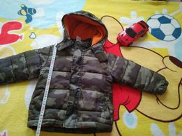 Курточка тёплая, для мальчика 1.5- 3 года