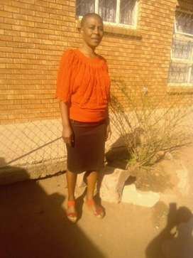 Dedicated and experienced LESOTHO nanny/maid needs stay in work