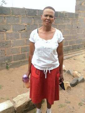 47 year old Domestic maid/cook/nanny from Lesotho needs live in wotk