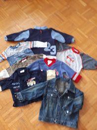 Paka- bluzy i koszulki chłopięce 4-6 miesięcy