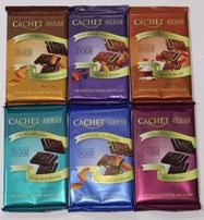 Шоколад Cachet (Кашет) 100 и 300 грамм Оптом