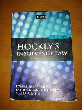 Hockleys Law of Insolvency 9th Edition