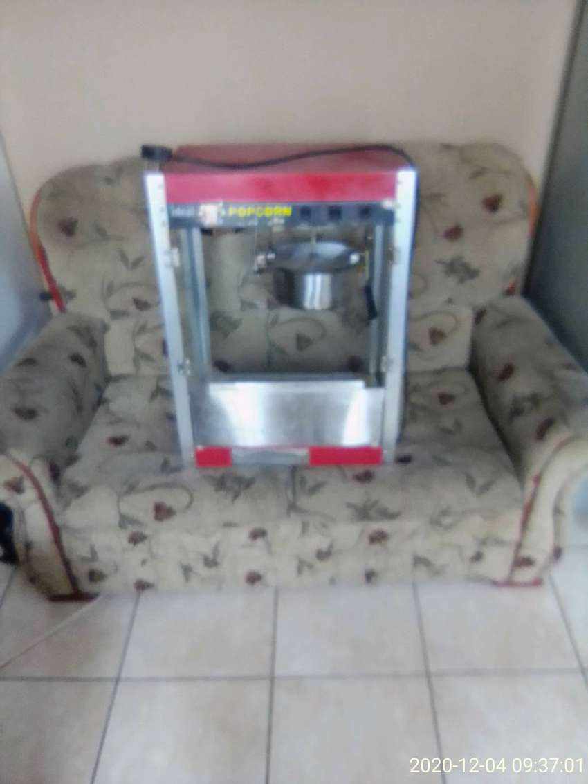 Buy these sofas and get a free popcorn machine 0